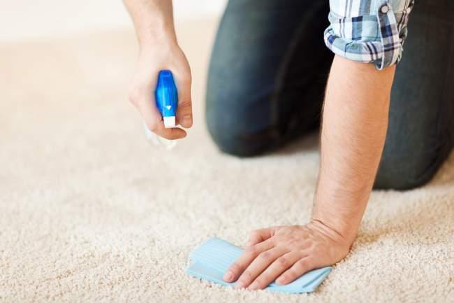 clean fresh nail polish spills