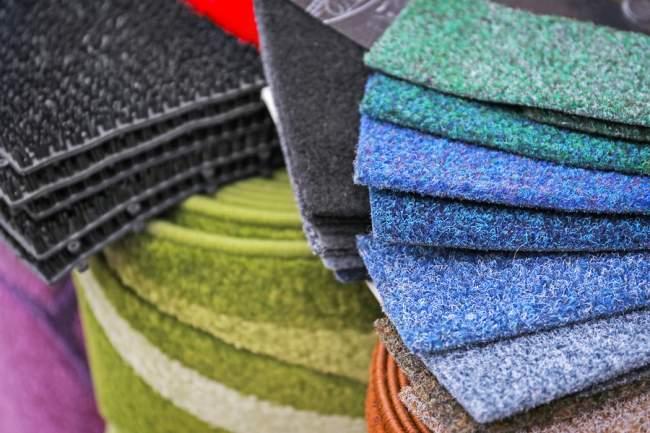 kinds of carpets