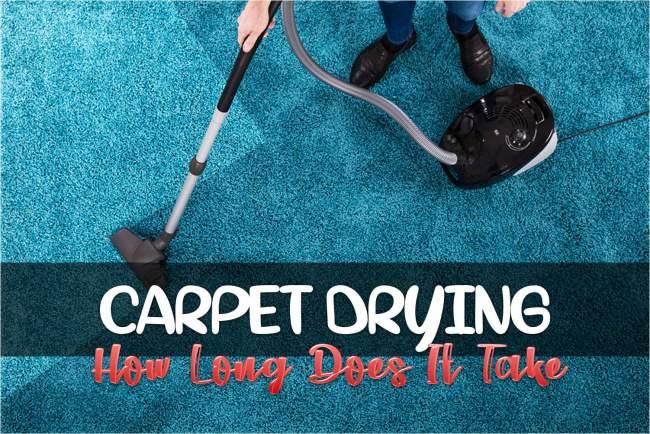 carpet drying