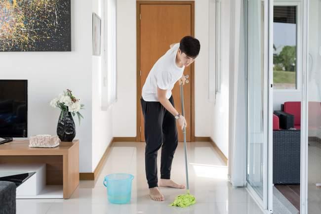 mop regularly