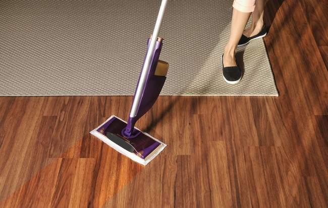 steam mop on pergo floors