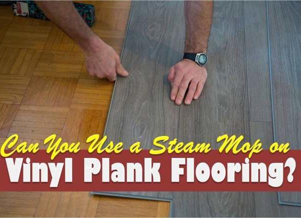 steam mop on vinyl plank flooring