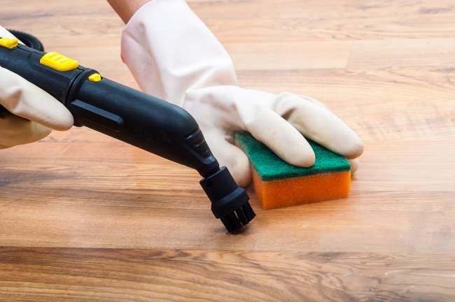 steam cleaning hardwood floors