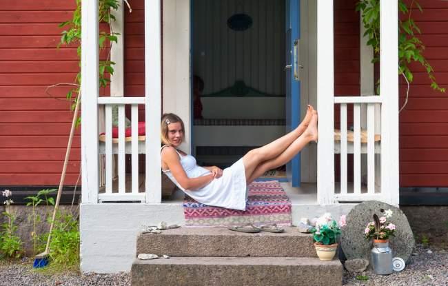 outdoor carpet at porch