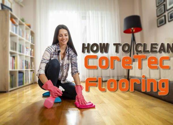 clean CoreTec flooring
