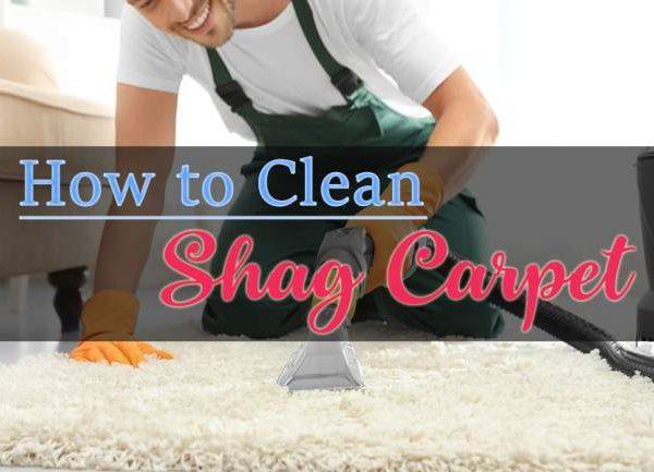 clean shag carpet