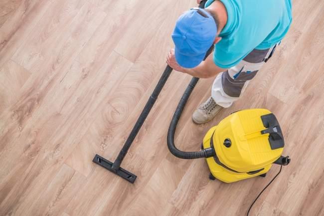 coretec flooring vacuum