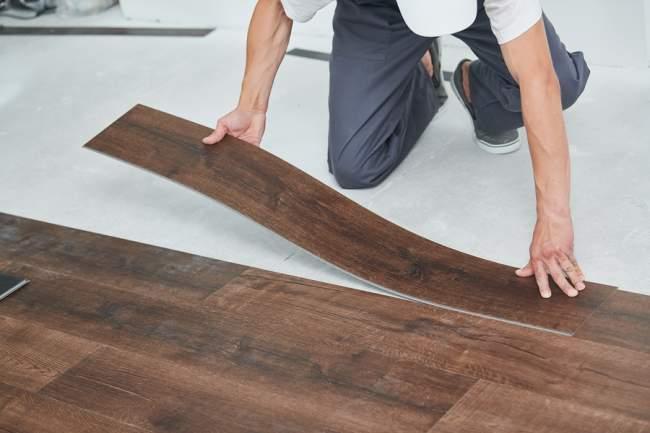 Glued Down Vinyl Planks or Vinyl Tiles