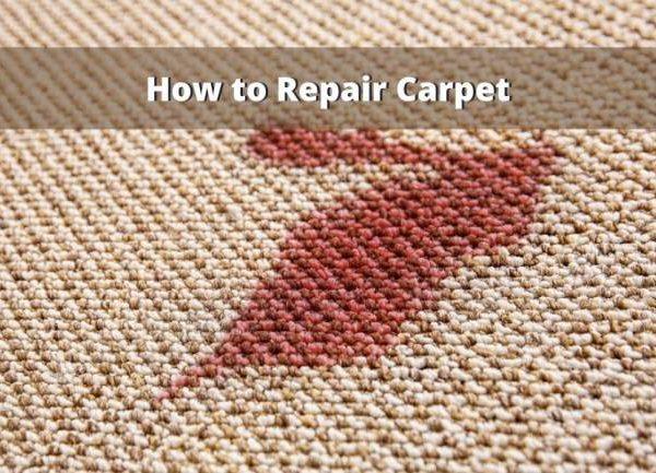 How To Repair Carpet