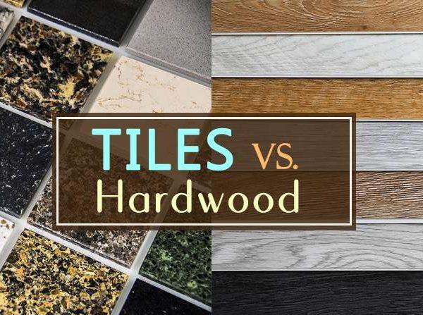 tiles vs hardwood