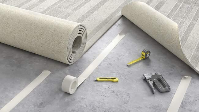 tools to stretch carpet
