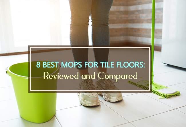 8 mops for tile floors