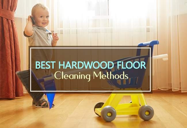 best hardwood floor cleaning methods