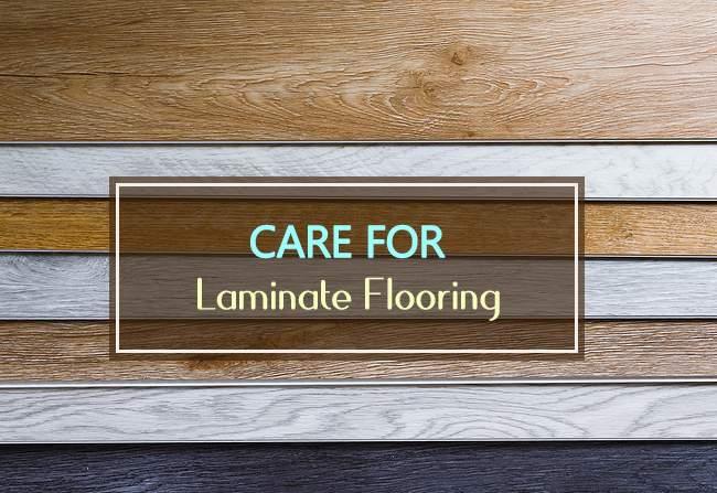 care for laminate flooring