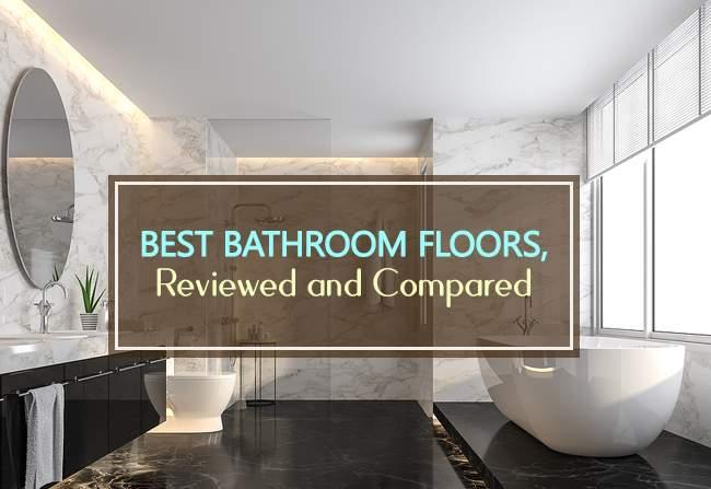 best bathroom floors