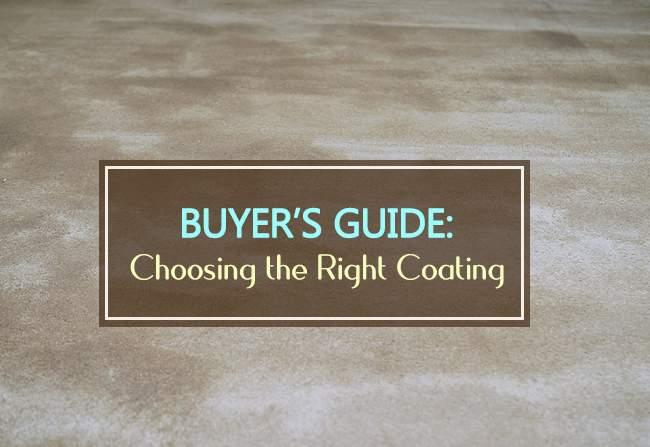 buyers guide choosing right coating