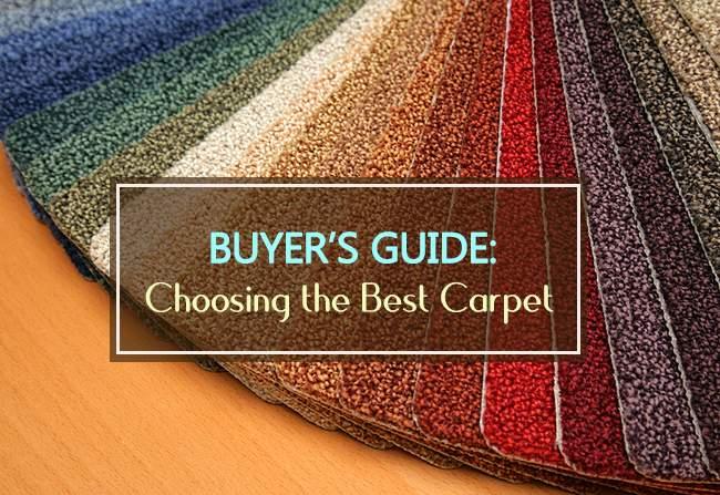 choosing the best carpet