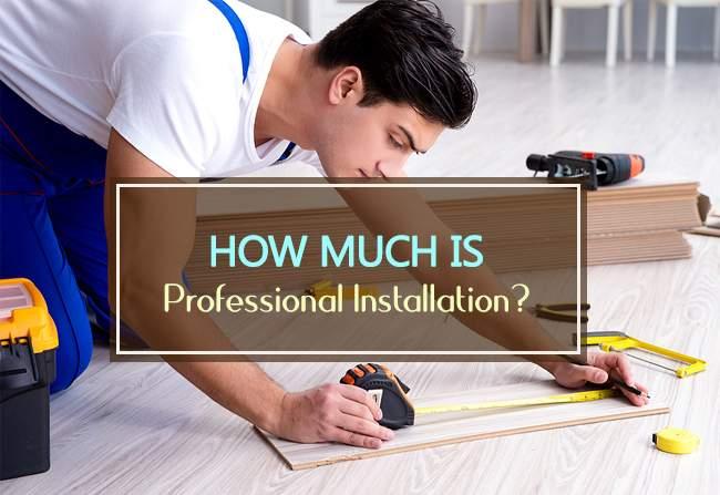 how much pro installation