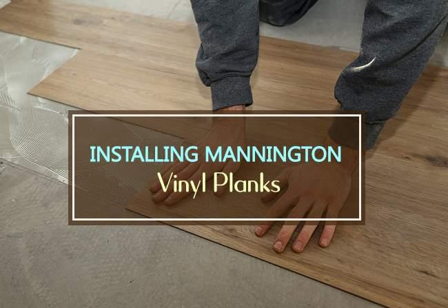 installing mannington vinyl planks