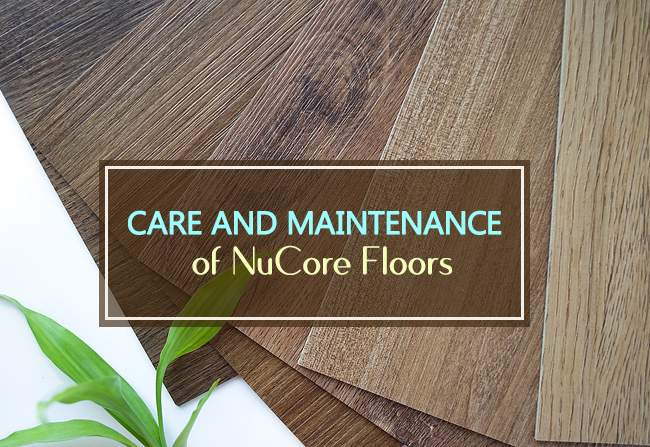 maintenance of nucore floors
