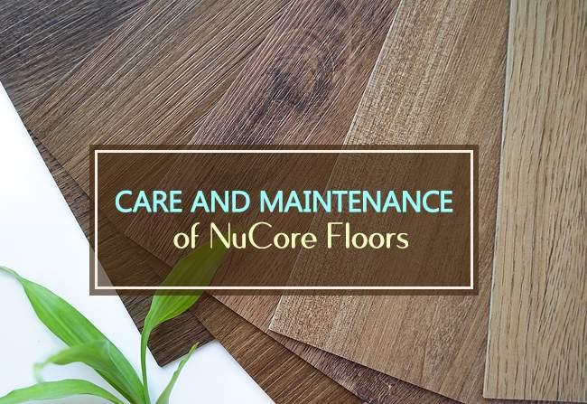 maintenance of nucore floors