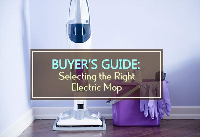 buyers guide electric mops