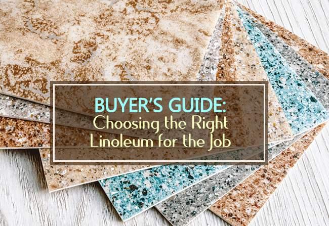 buyers guide linoleum flooring