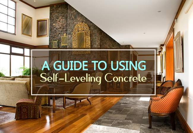 guide to using self-leveling concrete