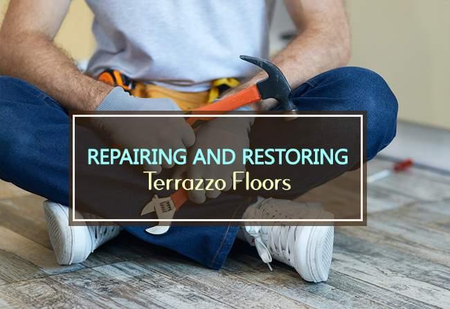 repairing and restoring terrazzo floors