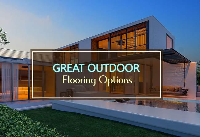 great outdoor flooring options