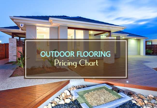 outdoor flooring pricing chart