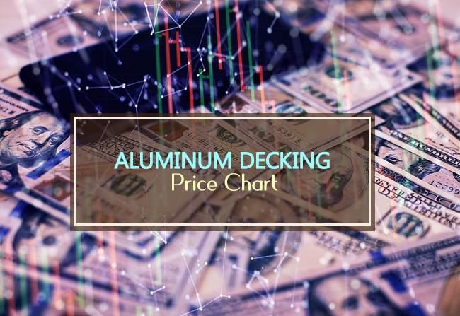 aluminum decking price chart