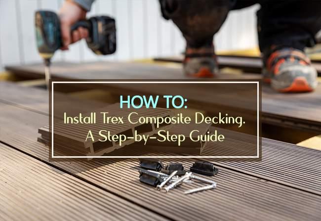 install trex composite decking