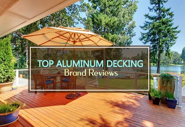 top aluminum decking