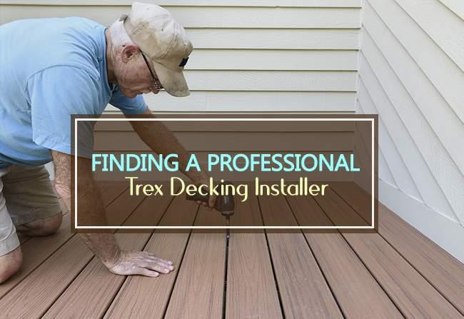 trex decking installer