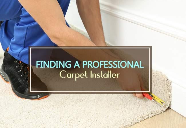 finding professional carpet installer