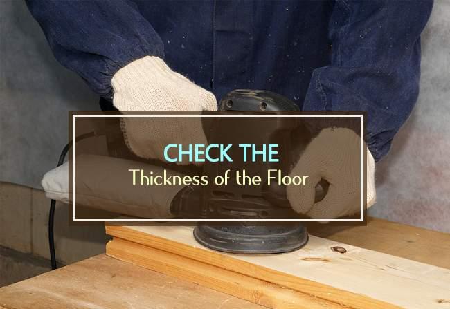 floor thickness
