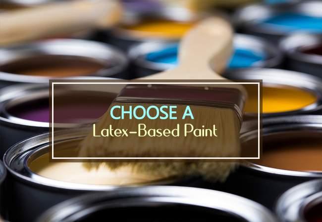 latex based paint