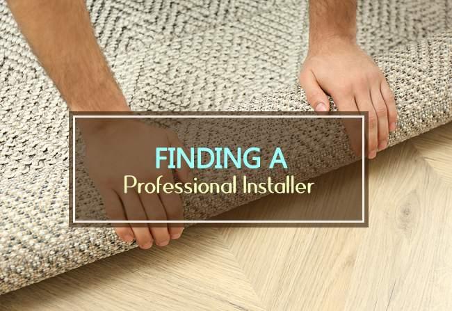 finding professional installer