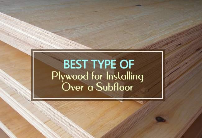 best type of plywood