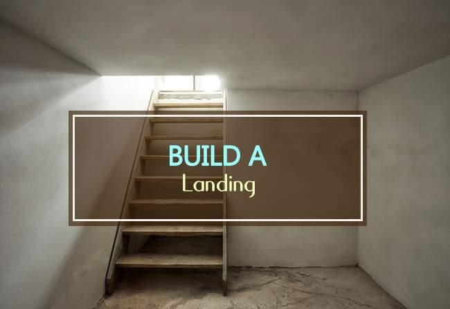 build a landing