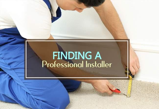 finding a pro installer