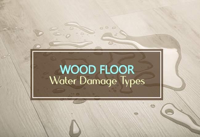 wood floor water damage types