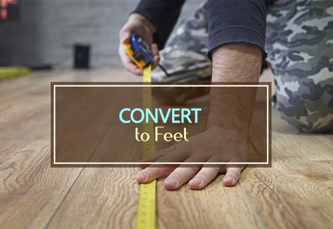 convert to feet