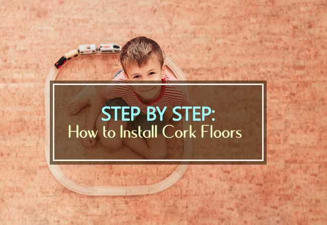 step by step installing cork floor