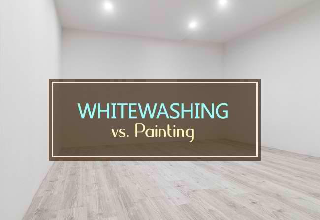 whitewashing vs painting