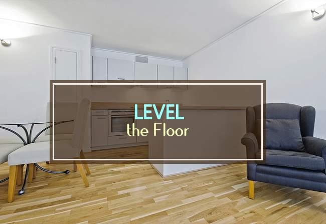 level the floor