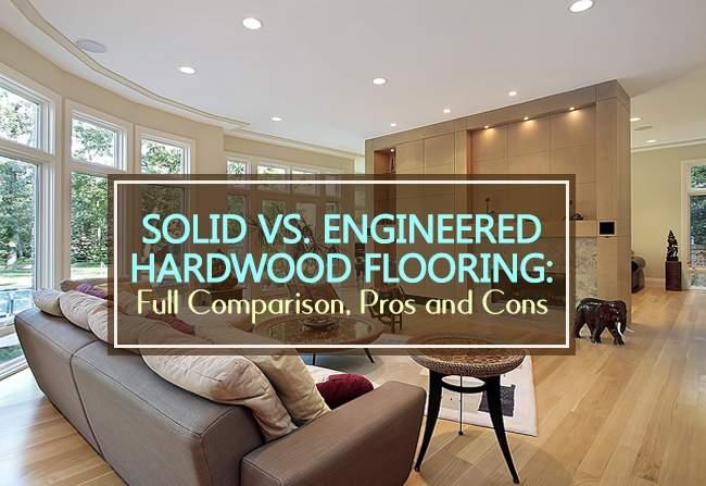 solid vs enginered hardwood flooring