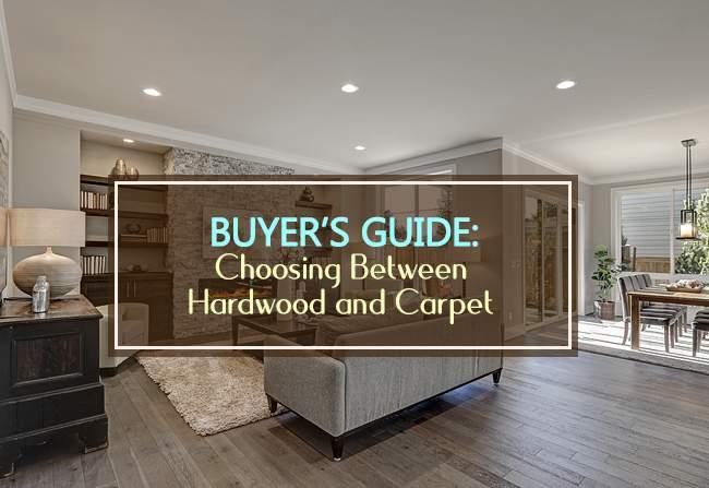 buyers guide carpet vs hardwood