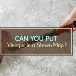Can You Put Vinegar in a Steam Mop?